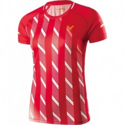 VICTOR Shirt Denmark Female rot 6609