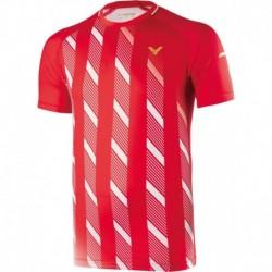 VICTOR Shirt Denmark Unisex rot 6599