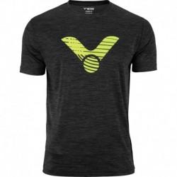 VICTOR T-Shirt schwarz melánge 6529