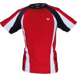 VICTOR T-Shirt unisex 6813, rot, Größe S