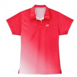YONEX Poloshirt Ladies ICL-1123, rot, Größe S