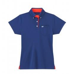 YONEX Poloshirt Ladies L2203, dunkelblau, Größe XS