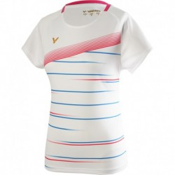 VICTOR Ladies T-Shirt T-01003 A, weiß
