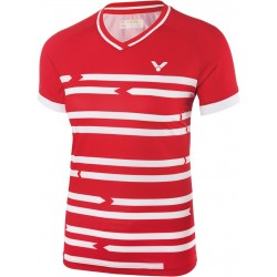 VICTOR Shirt Denmark Female rot 6618