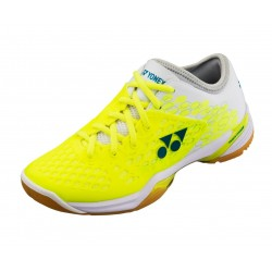 YONEX POWER CUSHION 03Z L, weiß/gelb