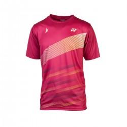 YONEX Men's T-Shirt, Practice 16505 Bordeaux