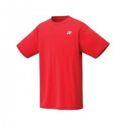 YONEX Men's T-Shirt, Club Team YM0023 Sunset Red