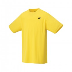 YONEX Men's T-Shirt, Club Team YM0023 Light Yellow