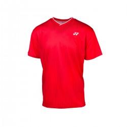YONEX Men's Crew Neck Shirt YM0026 Ruby Red