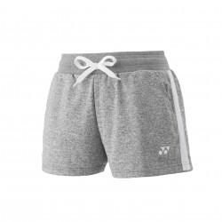 YONEX Women's Sweat Shorts YW0015 Gray