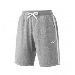 YONEX Men's Sweat Shorts YM0015 Gray