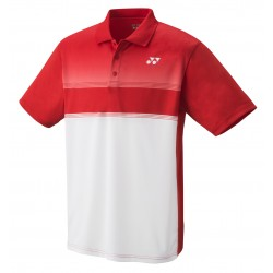YONEX Polo Shirt, Club Team YJ0019 Jr. Sunset Red