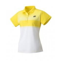YONEX Women's Polo Shirt, Club Team YW0019 Light Yellow