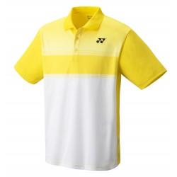 YONEX Men's Polo Shirt, Club Team YM0019 Light Yellow