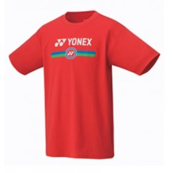 YONEX Men's T-Shirt, Practice 16427 Flash Red