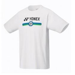 YONEX Men's T-Shirt, Practice 16427 White