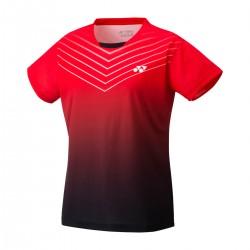 YONEX Women's Crew Neck Shirt YW0025 Ruby Red
