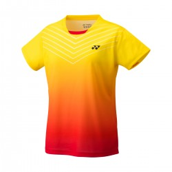YONEX Women's Crew Neck Shirt YW0025 Light Yellow