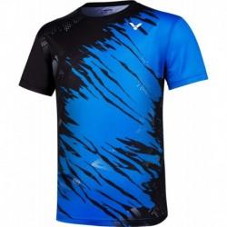 VICTOR unisex T-Shirt T-10000 TD M - blau-schwarz
