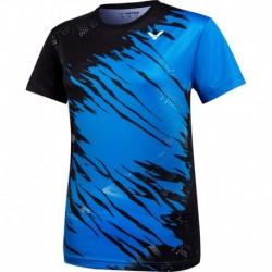 VICTOR Ladies T-Shirt T-11000 TD M - blau-schwarz